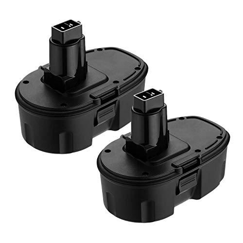 [Upgraded] 2 Packs 18V 3600mAh Ni-MH Extended Capacity Replace Battery for Dewalt 18 volt XRP DC9096 DC9098 DC9099 DE9098 DE9503 DW9095 DW9096 DW9098 Cordless Power -