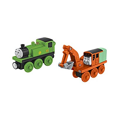 Fisher-Price Thomas & Friends Wooden Railway, Oliver and Oliver Train: Toys & Games