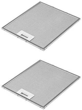 DREHFLEX AK109-2 - 2 filtros metálicos para campana extractora (305 x 267 mm, AEG Electrolux 405525042-9 Elica GRI0009219A KIT0010805 93952919 Whirlpool Bauknecht 480122102168 C00314158 ARI314158): Amazon.es: Grandes electrodomésticos