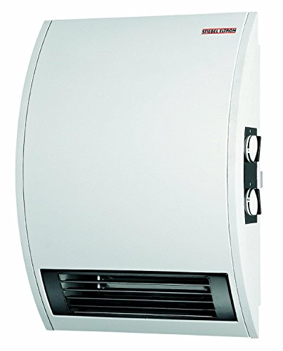 Stiebel Eltron CKT 15E 120-Volt 1500-Watt Wall Mounted Electric Fan Heater with 60 Minute Boost Timer