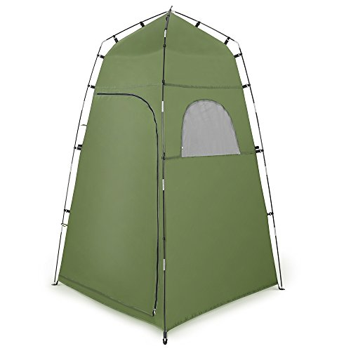 Portable Privacy Tent, Terra Hiker Portable Camping Toilet Tent, Changing Room Tent, Outdoor Waterproof with Windows Private Beach Tent by Terra Hiker