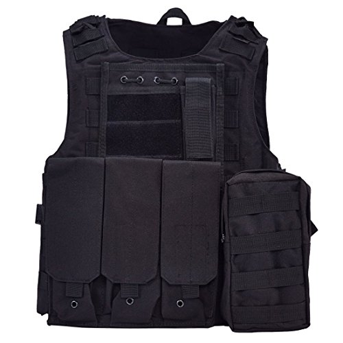 GZ XINXING Tactical Molle Airsoft Paintball Swat Vest by GZ XINXING