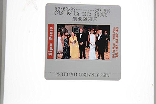 Gala Rouge - Slides photo of Gala De La Croix Rouge Monegasque, 1999.