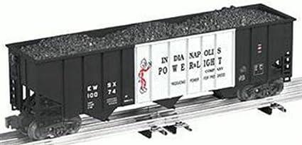 Lionel 6 17179 Indianapolis Power U0026 Light Ipu0026l Standard O 3 Bay Coal Hopper
