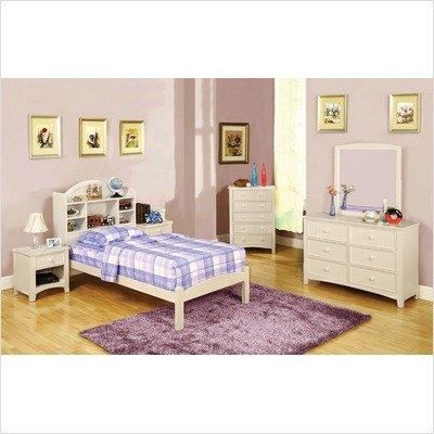 Furniture of America CM7905WH-N Omnus White Nightstand