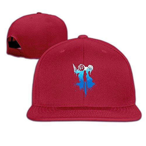 Delta Big Daddy Costume (ElishaJ Casual Bio Game Shock Big Dady Baseball Hats Caps Red)