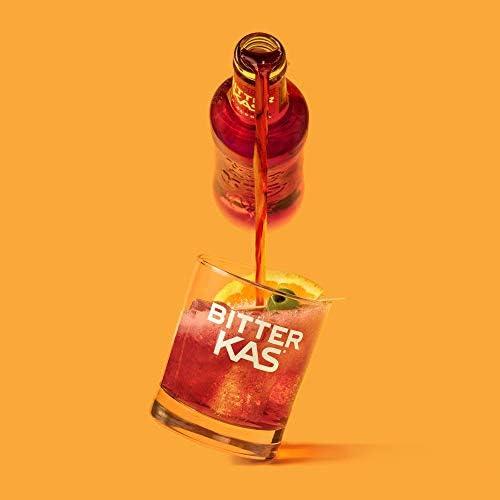 Bitterkas Bitter Kas Bebida Refrescante, Pack de 6 x 200ml ...