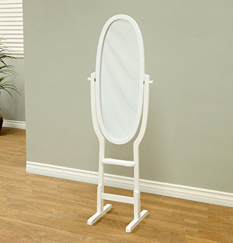 Frenchi Home Furnishing Mirror Stand, White