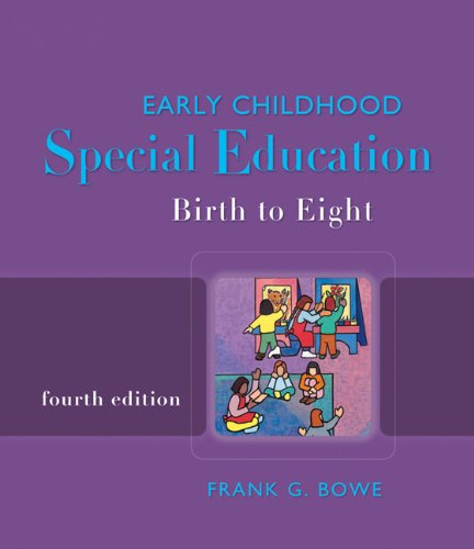 Early Childhood Special Education: Birth to Eight