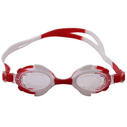 uv lunettes de avec jeunes de de protection natation des adultes anti de ogobvck et Redwhitewhite brouillard des pour lunettes natation natation hommes lunettes fuite femmes protection enfant enfants de triathlon xgqvOPp