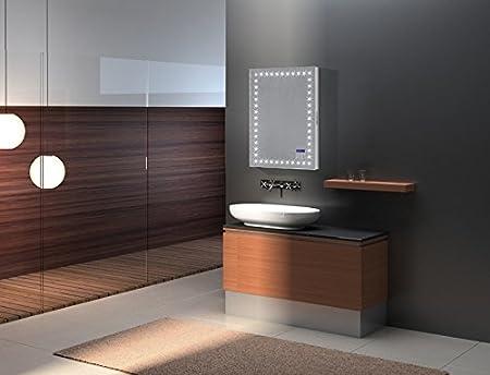 home standard 600mm x 800mm illuminated led bathroom mirror light rh amazon co uk Bathroom Mirrors with Built in TV Bathroom Mirrors with Built in TV