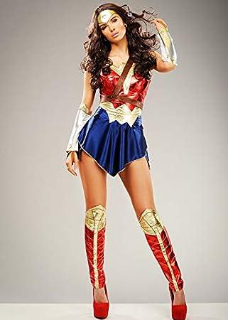 Magic Box Señoras Batman v Superman Wonder Woman Traje XS (UK6-8 ...