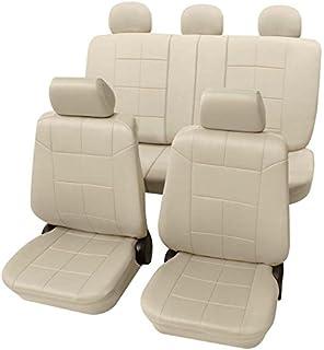 Sitzbezüge Sitzbezug Schonbezüge für Lancia Lybra Schwarz Modern MC-1 Set
