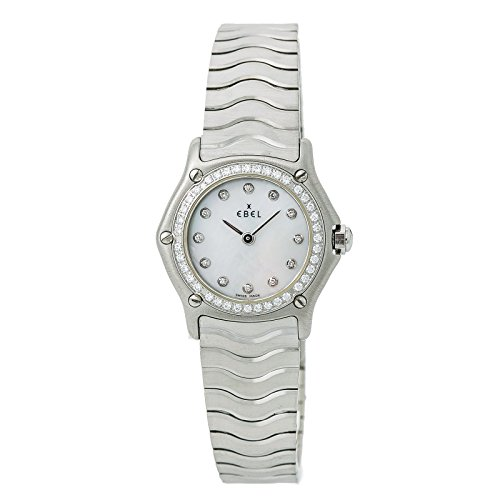 Ebel Wave Watch - Ebel Wave Quartz Female Watch E9157114 (Certified Pre-Owned)