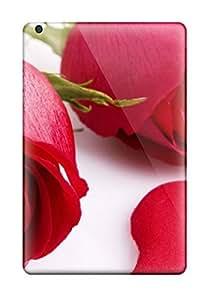 ClaudiaDay Perfect Tpu Case For Ipad Mini/mini 2/ Anti-scratch Protector Case (love In Red Roses)