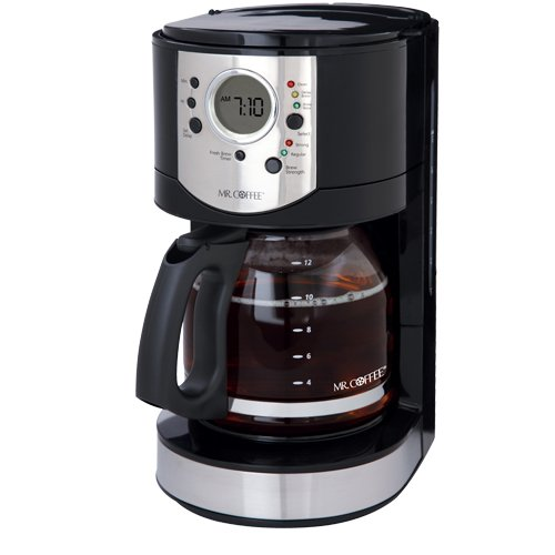 Mr Coffee Cjx21cp 12 Cup Programmable Coffeemaker Black