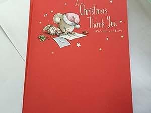Navidad gracias en Navidad, Navidad Tarjeta de felicitación