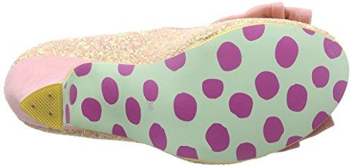 Irregular Choice Ban Joe - Tacones Mujer Rosa (Pink)