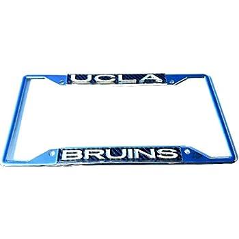 Amazon.com : UCLA Bruins Carbon Cut 3-D Silver Chrome Metal License ...