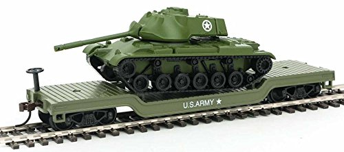- Model Power 98225 US Army Low Loader with Patton Tank