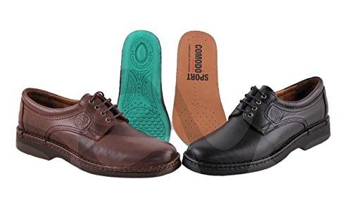 Comodos Caoba 6050Com Sport Piel Zapato Caballero HT6wqH