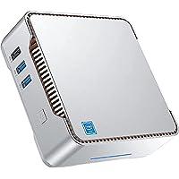 Mini PC Windows 10 Pro, Intel Celeron N3350 Mini PC de Escritorio 4 GB DDR3 64 GB eMMC, Mini computadora Compatible con…