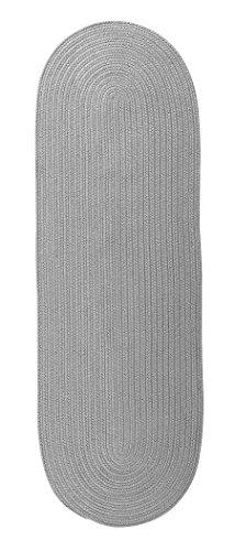 Colonial Mills RV43R028X072 Reversible Flat-Braid Runner Rug, 2'4
