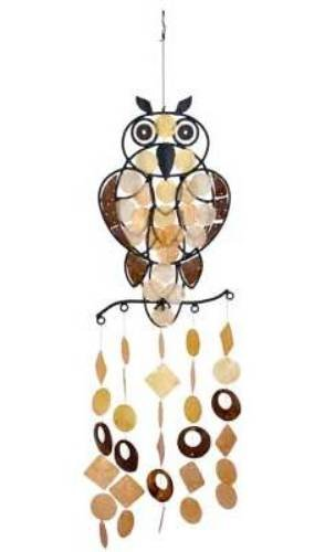 Woodstock Owl Capiz Chime- Asli Arts Collection Review