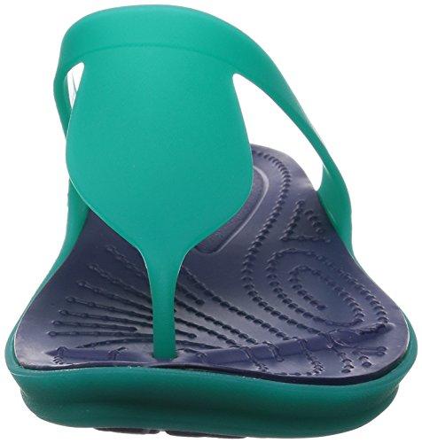 Sandales Flip Blau Femme W Crocs Rio wFpqZ7qt
