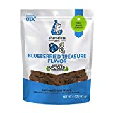 Image of SHAMELESS PETS Natural Grain Free Dog Treats | Made in The USA from Upcycled Food Ingredients (Blueberry)