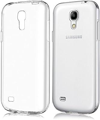 REY Funda Carcasa Gel Transparente para Samsung Galaxy S4 Mini, Ultra Fina 0,33mm, Silicona TPU de Alta Resistencia y Flexibilidad: Amazon.es: Electrónica