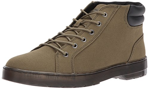 (Dr. Martens Men's Plaza Olive Fashion Boot, mid, 13 Medium UK (14 US))
