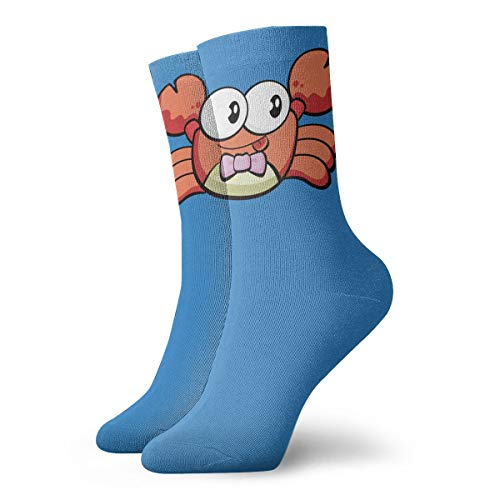 YUANSHAN Socks Cartoon Crab Women & Men Socks Soccer Sock Sport Tube Stockings Length 11.8Inch ()