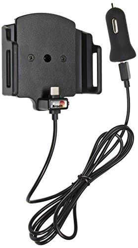 Tel/éfono m/óvil//Smartphone, Coche, Soporte Activo para tel/éfono m/óvil, Negro, ABS sint/éticos, De pl/ástico, 6,2 cm Brodit 521841 Coche Soporte