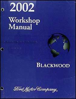2002 lincoln blackwood original repair shop manual lincoln amazon rh amazon com 2002 Lincoln Blackwood Interior Custom 2002 Lincoln Blackwood