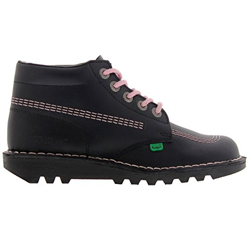 Awesome Details About Womens Kickers Kick Hi Tan Nubuck Leather Boots