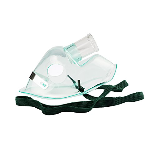 Gusir Compressor System Cool Mist Inhaler Accessories Kit with Oxygen Tubing Adult & Child Oxygen Masks