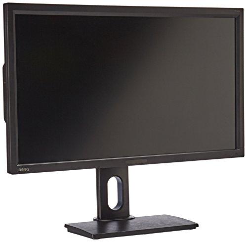 BenQ BL2711U 68,58 cm (27 Zoll) Hochauflösender 4K UHD Monitor (4K UHD, HDMI, DVI, VGA, USB, 4ms Reaktionszeit, Höhenverstellbar, Pivot, Lautsprecher) schwarz