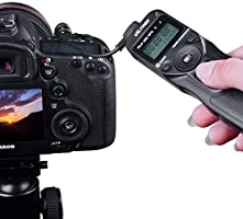 VILTROX Time Lapse Intervalometer Timer Remote Control Shutter with N3  Cable for Nikon D90 D600 D3100 D3200 D5000 D5100 D7000