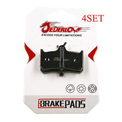 - JEDERLO 01A 4 PAIR BRAKE PADS FOR DEORE XT BR M755 HOPE MONO M4 SRAM