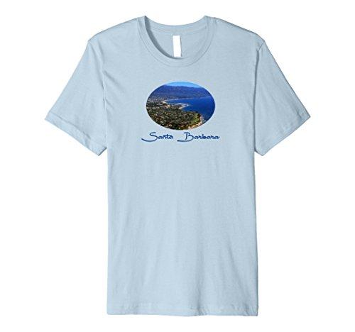 Santa Barbara Harbor Graphic Art Premium Shirt