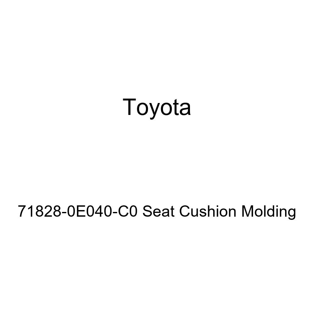Toyota Genuine 71828-0E040-C0 Seat Cushion Molding