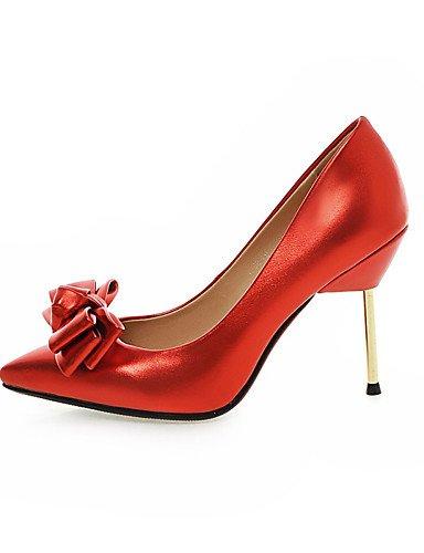 Vestido 5 Semicuero Zapatos Rojo mujer black black Tacones 5 uk7 Boda 5 Tacones 8 Negro eu41 Rosa Tacón Fiesta de cn42 us9 Puntiagudos Básico us9 eu36 cn36 uk4 Stiletto y Noche us6 silver GGX Pump 10 10 Zwd4PqZ