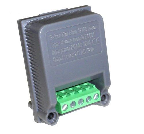- Galcon 4-Station Expansion Module 800248 AC-24 Modular Irrigation Controller