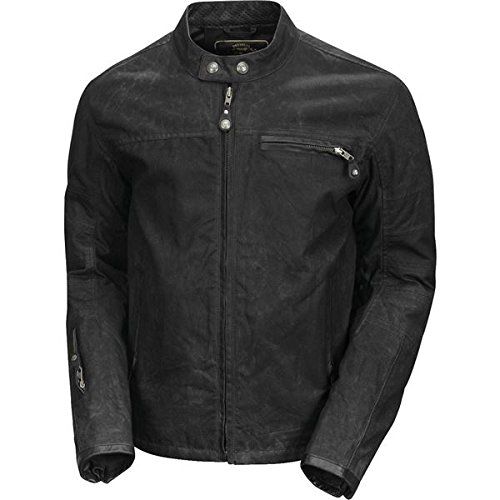 Roland Sands Design Ronin Waxed Men's Street Motorcycle Jackets - Black/X-Large