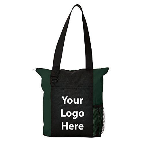 Beyond Zippered Business Tote - 125 Quantity - $3.35 Each - PROMOTIONAL PRODUCT / BULK / BRANDED with YOUR LOGO / CUSTOMIZED by Sunrise Identity