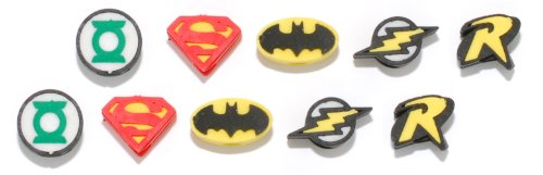 Pencils Flash - DC Comic Pencil Top Erasers 10 pieces - Superman, Batman, Robin, Flash, and Green Lantern