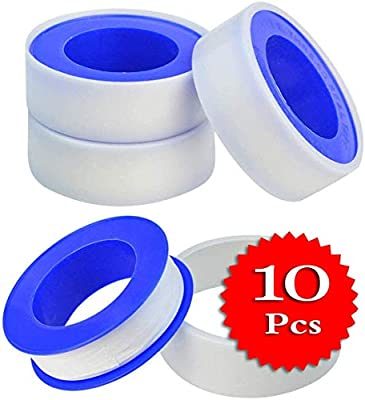 x 8 Rolls Teflon Plumbing 12mm x 10meter Pipe Connecting Seal Tape 1//2 x 394/""