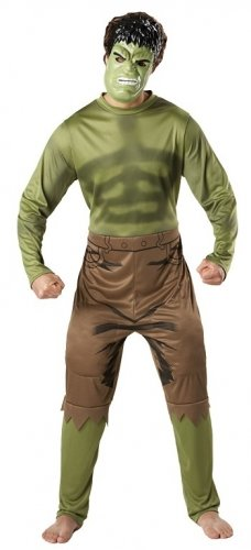 46 Costumes (Character Marvel Avengers Incredible Hulk Adult X Large Chest 42 46 Costume)