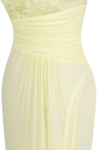 sfera a Mermaid Sweep intera rilievo femminile Angel figura di Lace Albicocca fashions Champagne xXqTTP0